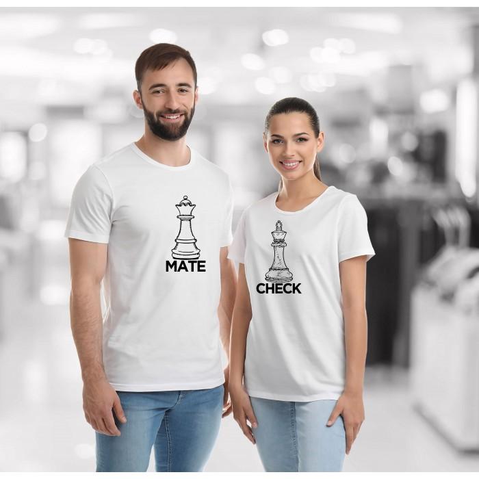 COUPLE TEES - CHECK MATE TEES