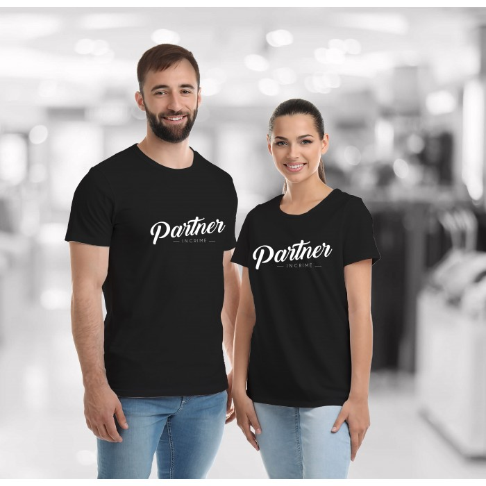 COUPLE TEES-PARTNER IN CRIME