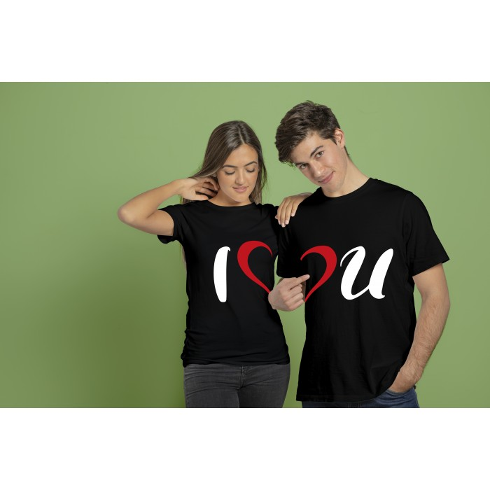 COUPLE TEES-I LUV YOU